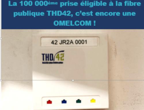 La 100000ème prise du THD42 est encore une prise Omelcom !