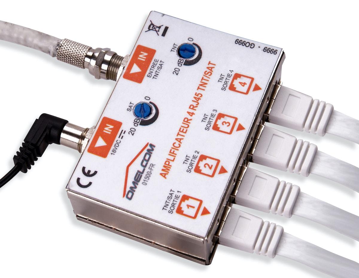Connectique RJ45
